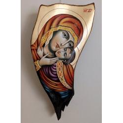 Св. Богородица Елеуса (Бачковска) - рисувана икона