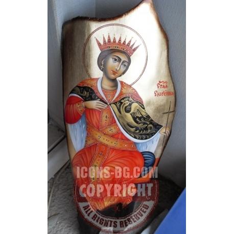Св. великомъченица Екатерина- икона от ЧАУШЕВ