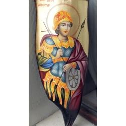 Свети Димитър- икона от ЧАУШЕВ