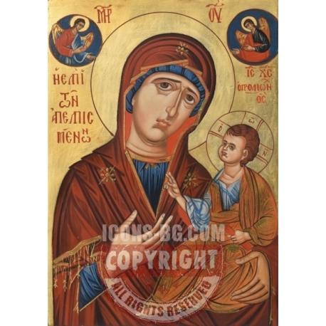 """Света Богородица """"Надежда на обезнадеждените""""- икона от АНТОНИЯ"""
