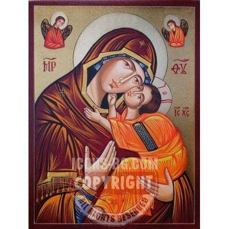 Св. Бгородица Елеуса - икона от РОСЕН