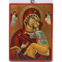 """Св. Богородица """"Всевъзпявана """"- икона от НЕНЧЕВИ"""