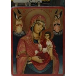 Св Богородица с архангели - икона от НЕНЧЕВИ