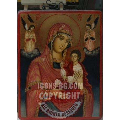 Св Богородица с архангели