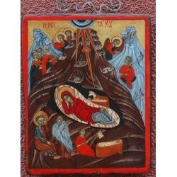 Рождество Христово - икона от НЕНЧЕВИ