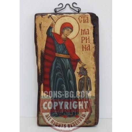 Света Великомъченица Марина - икона от НЕНЧЕВИ