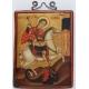 Свети Георги на кон - коптска икона