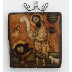 Свети Йоан Кръстител - коптска икона