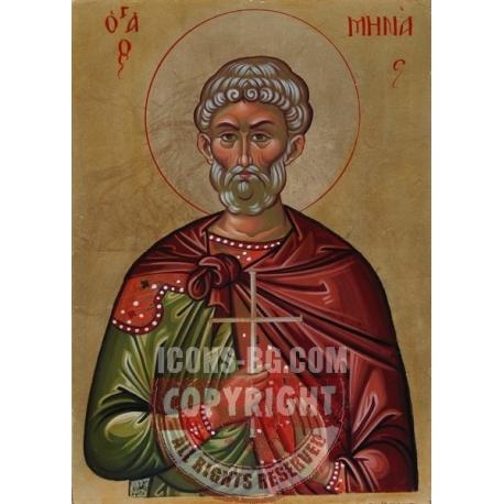 Свети Мина - икона от АНТОНИЯ
