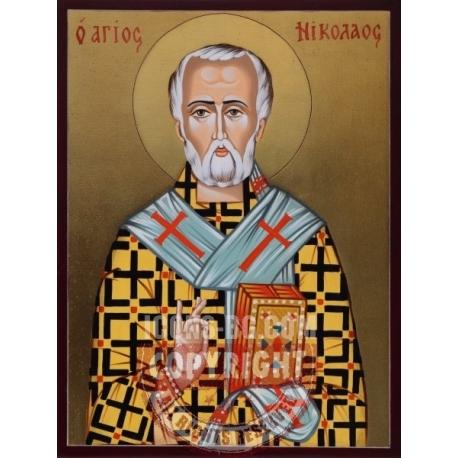 Свети Николай - икона от РОСЕН