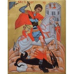 Свети Георги Победоносец - икона от АНТОНИЯ