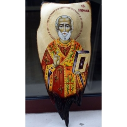 Свети Николай - икона от ЧАУШЕВ