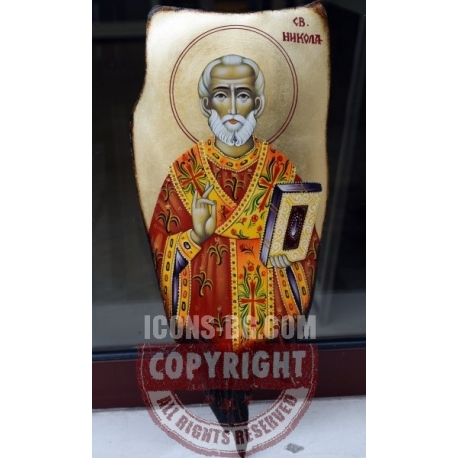 Свети Никола - икона от ЧАУШЕВ