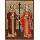 Св.Св. Константин и Елена - икона от ТИНКА