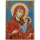 """Св. Богородица """"Одигитрия"""" (Трявна)- икона от ТИНКА"""
