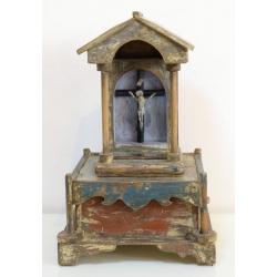 Кивот съхраняващ икона на Свети Христофор