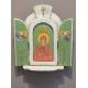 Триптих - Света Параскева и Ангели