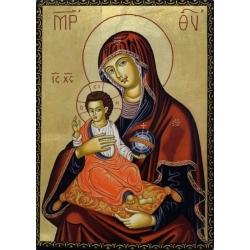 "Св. Богородица ""Одигитрия""- икона от ТИНКА"