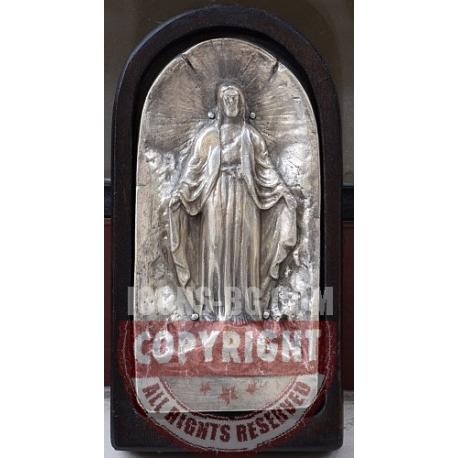Иисус Христос - посребрена миниатюра от МИХАЛЕВ