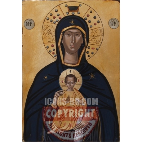 """Пресв. Богородица """"Никопея"""" (Победоносна)- икона от АНТОНИЯ"""
