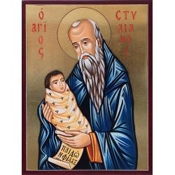 Свети Стилиян Детепазител - икона от РОСЕН