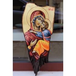 Св. Богородица Умиление (Несебърска) - икона от ЧАУШЕВ