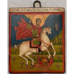 Свети Теодор Тирон - икона от НЕНЧЕВИ
