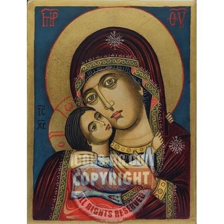 Св. Богородица Умиление (Рилска) - икона от НЕНЧЕВИ