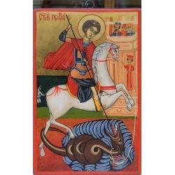 Свети Георги Победоносец - икона от НЕНЧЕВИ