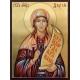 Света Дария - икона от РОСЕН (вариант: златен фон)