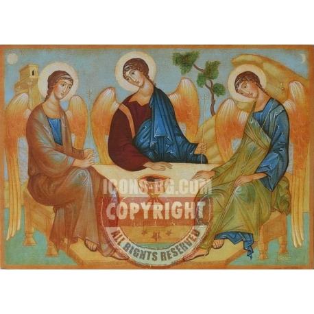 Старозаветна света Троица - икона от Юлия