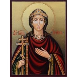 Света Ирина - ръчно рисувана икона от РОСЕН