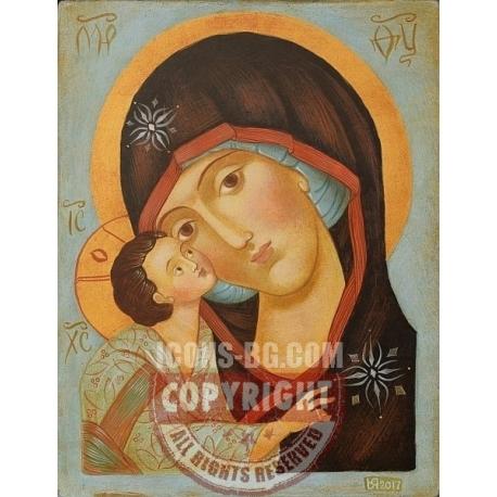 Света Богородица с Младенеца - икона от ЮЛИЯ