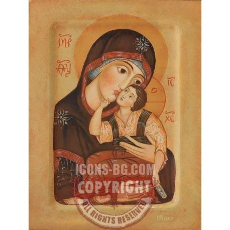 """Света Богородица """"Умиление"""" - икона от ЮЛИЯ"""