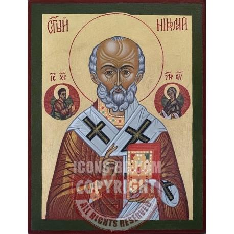 Свети Николай Чудотворец - икона от ДРУЖИНИН