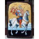 Св. Мина на кон - икона от ТИНКА