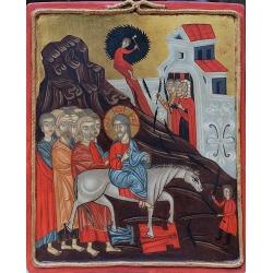Цветоносие (Вход в Йерусалим) - икона от НЕНЧЕВИ