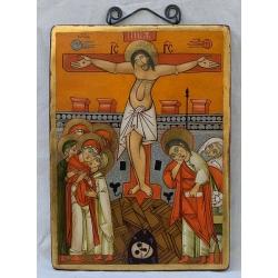 Разпятие Христово - коптска икона от НЕНЧЕВИ