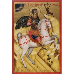 Свети Евстатий Плакида - икона от НЕНЧЕВИ