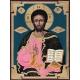 Снимка на иконата в размер: 32/24 см. Христос Вседержител - икона от ДРУЖИНИН