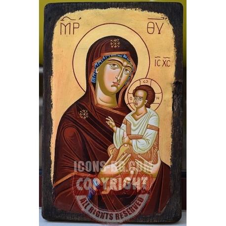 Света Богородица Пътеводителка - икона от ТИНКА