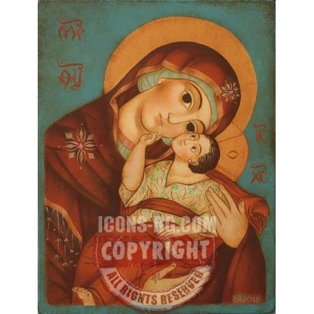 Богородица Умиление - икона от ЮЛИЯ