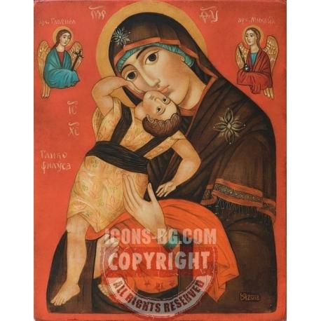 "Св. Богородица ""Пелагонитиса"" (Играеща) - икона от ЮЛИЯ"