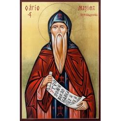 Свети Максим Изповедник - икона от РОСЕН