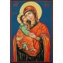 Богородица Умиление (Банска школа) - икона от РОСЕН