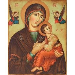 "Богородица с Младенеца ""Страстна"" - икона от ЮЛИЯ"