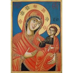 Св. Богородица Одигитрия (Странджа) - икона от ТИНКА