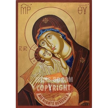"Св. Богородица ""Умиление""- икона от ТИНКА"