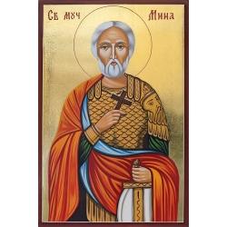 Св. Великомъченик Мина - икона от РОСЕН