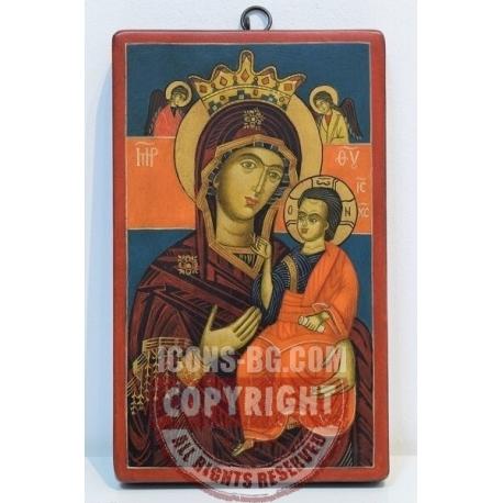 Св. Богородица Одигитрия (Арбанаси) - икона от НЕНЧЕВИ